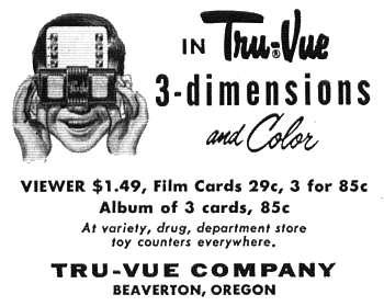 Kukla, Fran and Ollie Tru-Vue 3D Stereo Card